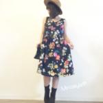 美人百花掲載トッコクローゼットの花柄ワンピースを着てみた口コミレビュー!