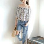 シンプル♪だけど可愛い♡Re:EDITが魅せる夏の大人の着こなし