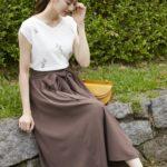 今年の夏は涼しく上品なフレンチスリーブで、大人っぽく綺麗な着こなしを♡