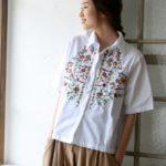トレンド感のある「シャツ」を使って、ハンサムで女らしい大人の夏コーデに挑戦☆