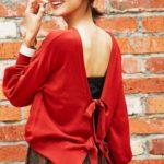 秋に着たい『赤』コーデで女子力UP色♡差し色にも使えるアイテムまとめ♪