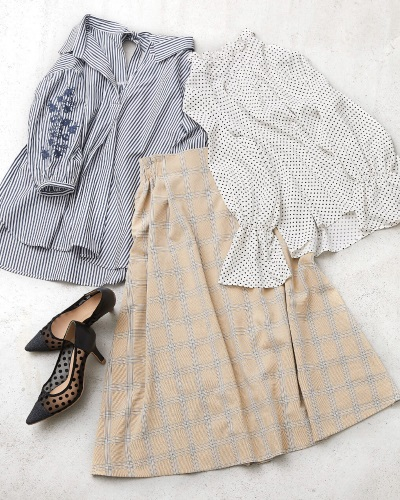 40代春ファッション