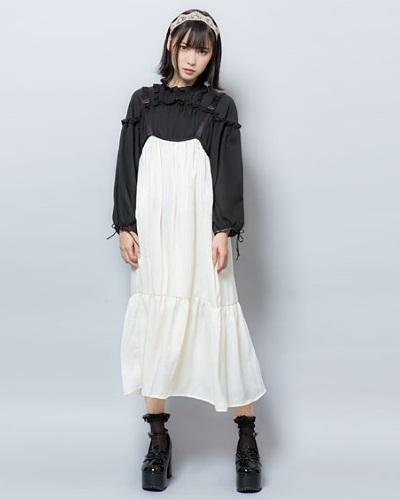 夢展望のガーリーファッション