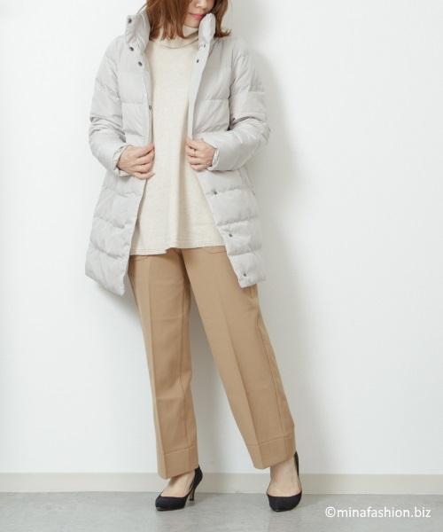 スタンドカラー・ダウンジャケット ¥ 9,990