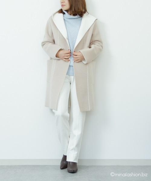 40代・アラフォー女性の冬のきれいめファッション・コーディネート