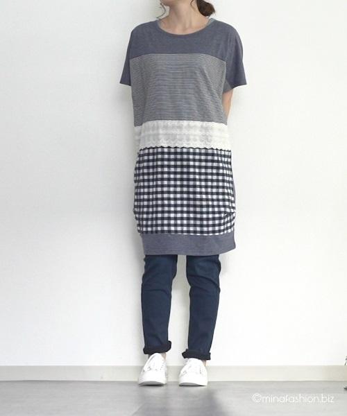 ゆったりsoulberryのナチュラル服を使う春のママファッション・コーディネート