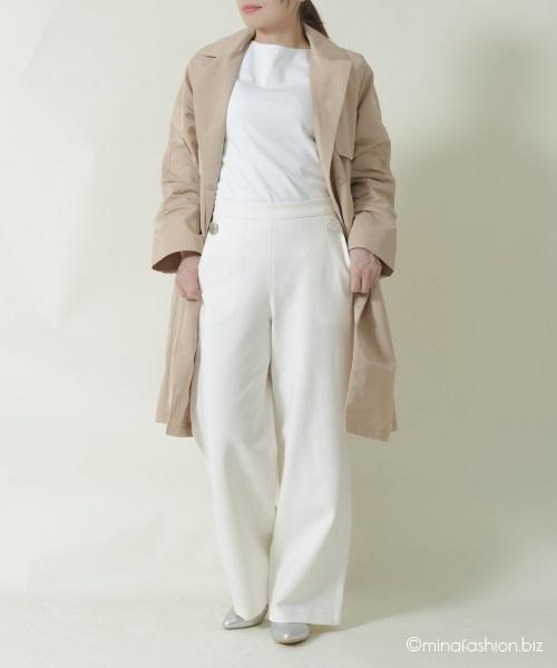 DoCLASSE ドゥクラッセTシャツ・ボートネック7分袖/58cm丈