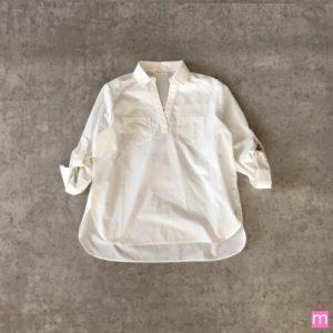 soulberry スキッパーロングシャツ