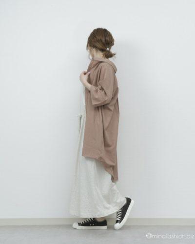 オシャレウォーカー n'Or洗練ロングシャツ 2,997円(税込)