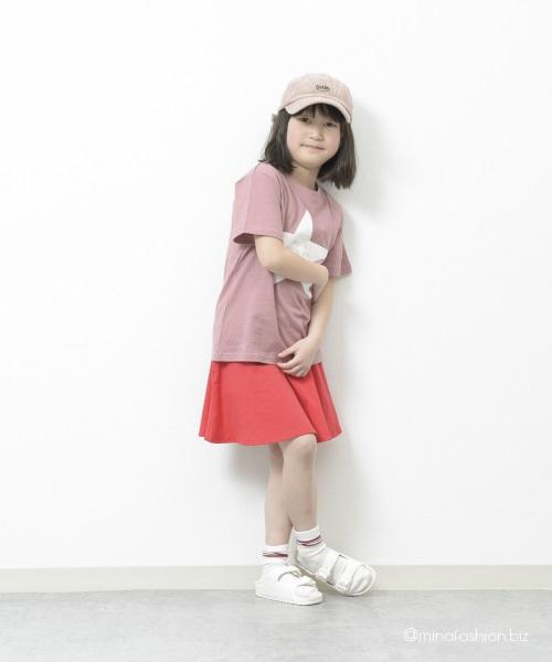 ピンク系だけど甘くならない春の女の子ストカジコーデ