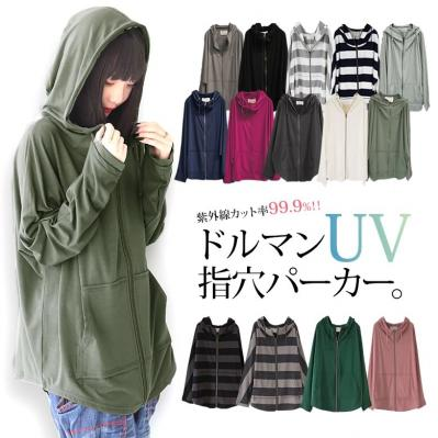 n'Orドルマン指穴UVパーカー 2,997円(税込)