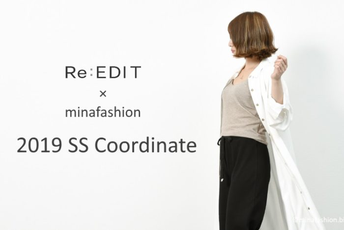 Re:EDIT×minafashion