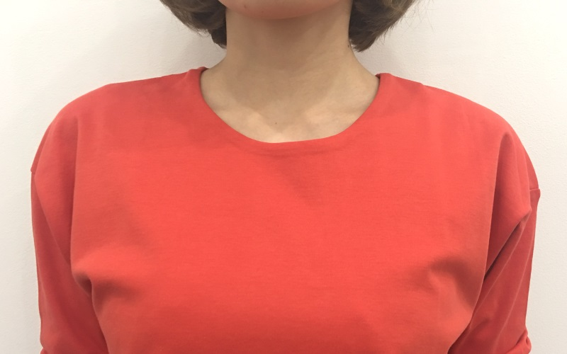DoCLASSET ドゥクラッセTシャツ・抜け感シルエット9分袖