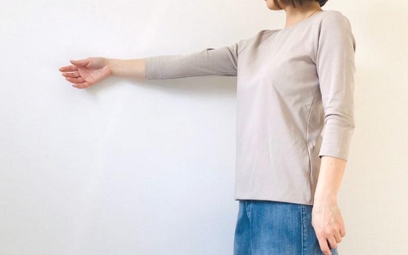 DoCLASSE ドゥクラッセTシャツ・クルーネック7分袖