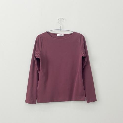ドゥクラッセTシャツ・ボートネック長袖/58cm丈