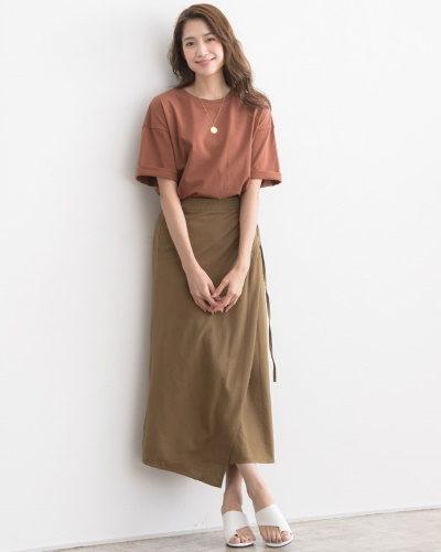 Pierrot綿麻ラップスカート2,990円