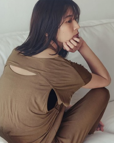 Re:EDITソイビーンバックオープンTシャツ2,690円