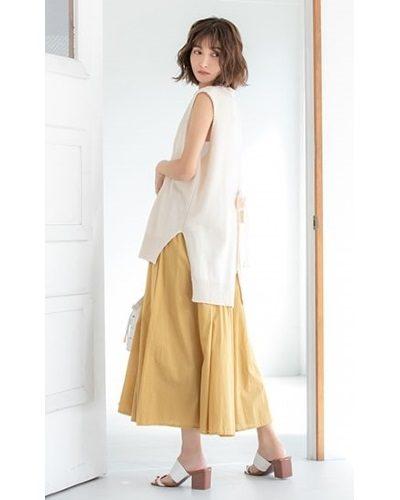 2020年30代女性の春夏トレンドファッション・ジレ・ベスト