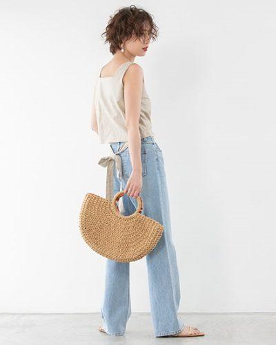 2020年30代女性の春夏トレンドファッション・バックシャンアイテム