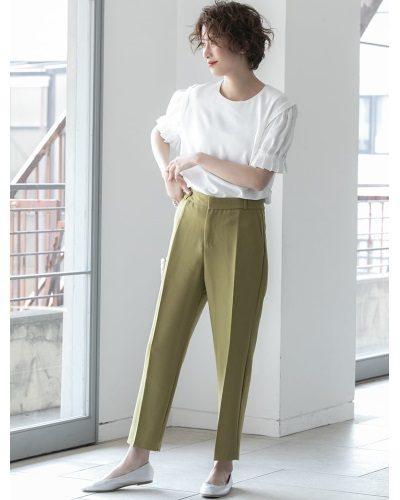 2020年30代女性の春夏トレンドファッション・テーパードパンツ