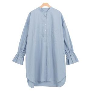 Pierrot・キャンディスリーブオーバーシャツ/3,490円