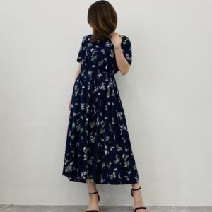 DoCLASSE UVスラブ・ロングフレアワンピ/17562 5,990円