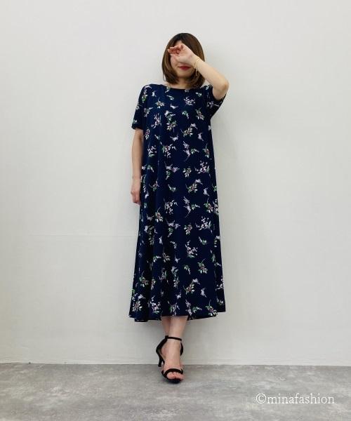 DoCLASSE UVスラブ・ロングフレアワンピ/17562 6,589円(税込)