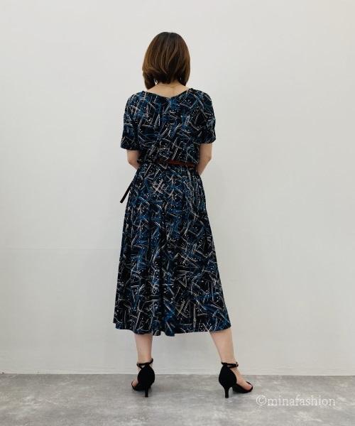 DoCLASSE UVスラブ・ロングフレアワンピ/17566 5,990円