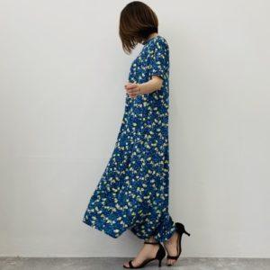DoCLASSE UVスラブ・ロングフレアワンピ/17564 5,990円