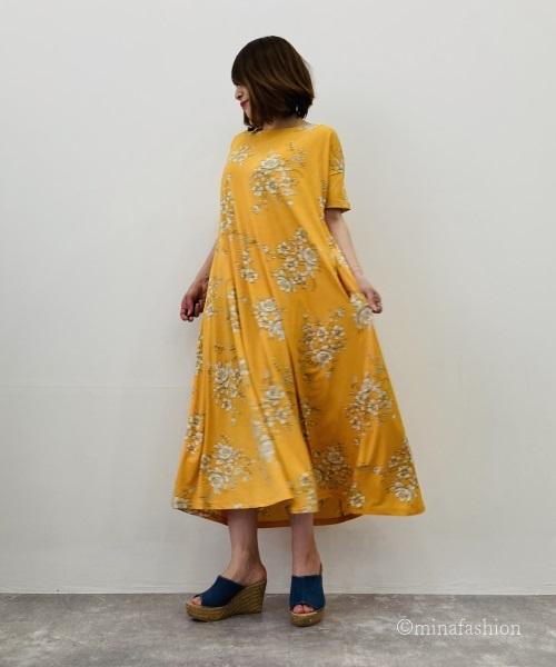 DoCLASSE UVスラブ・ロングフレアワンピ/17568 6,589円(税込)