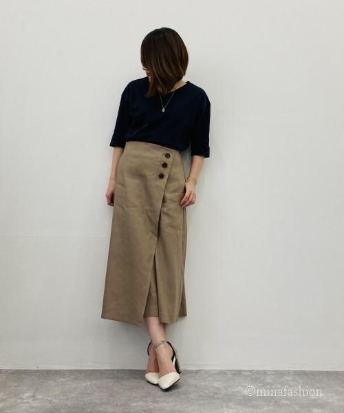 DoCLASSE ドゥクラッセTシャツ・抜け感Vネック 3,990円