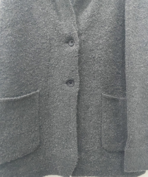 DoCLASSE イタリア糸・アルパカ混ニットジャケット