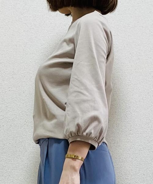 DoCLASSE ドゥクラッセTシャツ・パフスリーブ7分袖