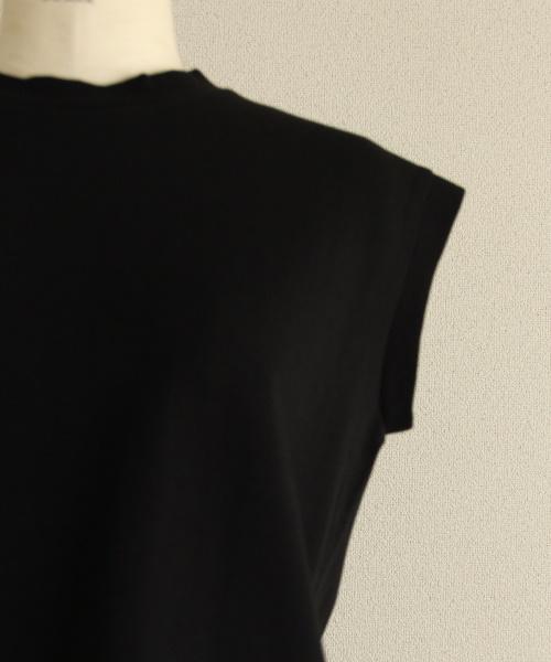 DoCLASSE 太番手コットン・天竺フレンチTシャツ 2,189円(税込)