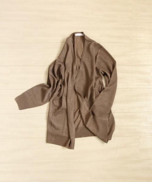 DoCLASSE スパークリングニット・ミディカーディガン 5,489円(税込)