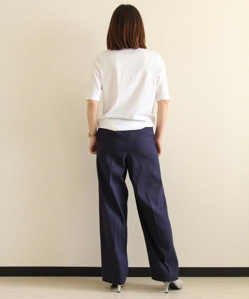 DoCLASSE ドゥクラッセTライト・ボートネック/5分袖 3,289円(税込)