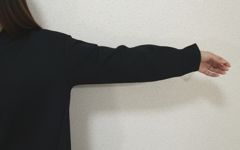 DoCLASSE ファインポンチ・立体Vネックセットアップ 9,889円(税込)