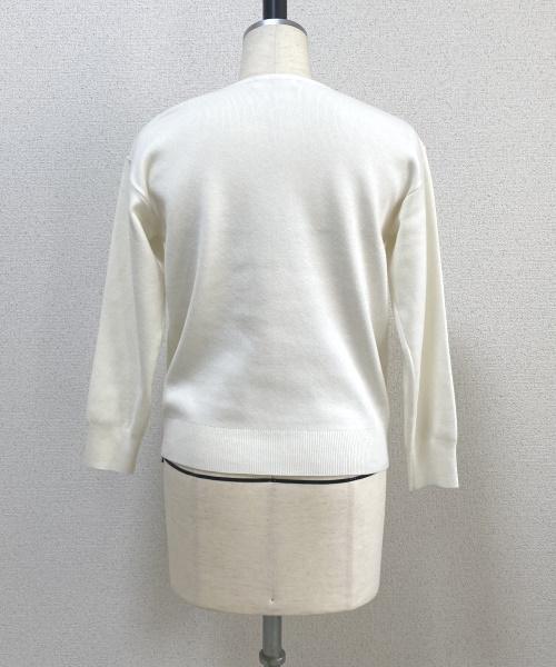 DoCLASSE リラクシーニット・総針キーネック 4,389円(税込)